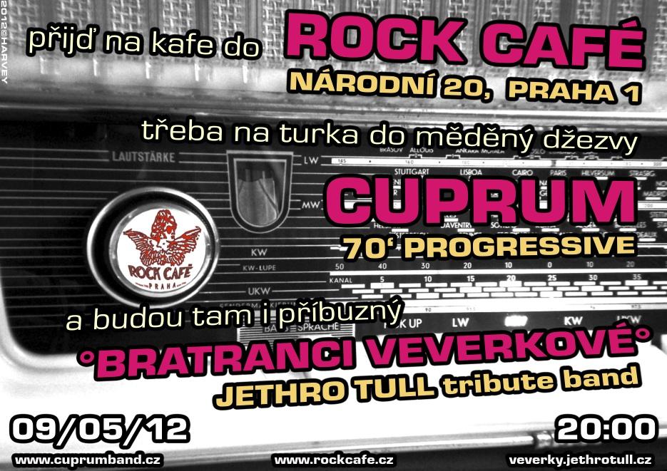 Plakát Rock Café 9.5. 2012